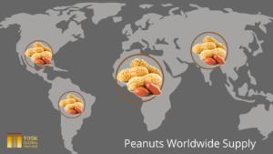 Map of Peanuts Worldwide Supply